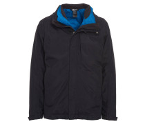 3-in-1-Outdoorjacke, wetterfest, Kapuze
