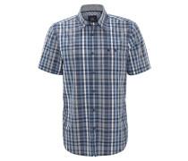 Freizeithemd, Comfort Fit, Kent-Kragen, Baumwolle, Blau