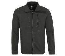 Jeans-Jacke, Reißverschluss, Grau