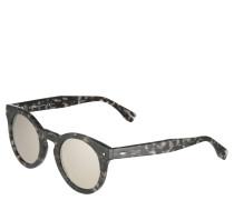 """Sonnenbrille """"Sun Fun"""", havannaschwarz, gespiegelt"""