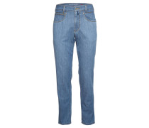 "Jeans-Hose ""Freddy"", Five-Pocket, kontrastfarbene Nähte, Blau"