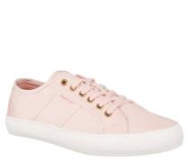 """Sneaker """"Zoe"""", strukturierte Oberfläche, breite Gummisohle, Canvas, Pink"""