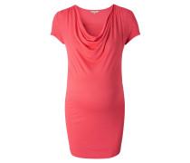 """Still-Shirt """"Carmen"""", Wasserfallausschnitt, Orange"""