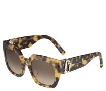 Sonnenbrille, Schmetterlingsform, Filterkategorie 2
