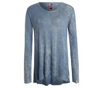 Pullover, Semitransparent, Weicher Griff, Blau