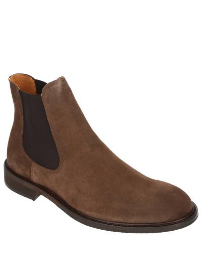 Chelsea Boots, Leder, Blockabsatz