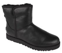 """Boots """"Cory"""", gefüttert, wasserabweisend, Leder, Schwarz"""
