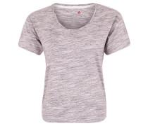 "T-Shirt ""Marble"", Relaxed-Fit, für Damen, Lila"