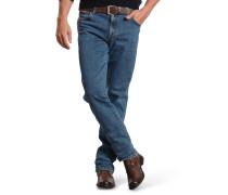 """Jeans """"Texas"""", gerader Schnitt, Stretch-Anteil, Baumwolle, Blau"""