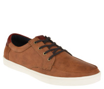"""Sneaker """"Ciren"""", Bootsschuh Stil, Leder, Braun"""