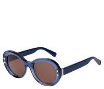 """Sonnenbrille """"319/S"""", ovaler Rahmen, Nieten"""