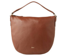 """Handtasche """"Elly"""", Leder, Logo-Detail"""