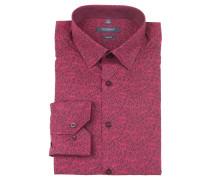 Businesshemd, body fit, zweifarbig, Kent-Kragen