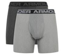 "Pants ""Boxerjock"", 2er-Pack, für Herren, Grau"