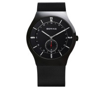 Classic Herrenuhr schwarz 11940-222