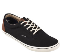 Sneaker, Textil, Leder-Patch