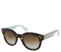"Sonnenbrille ""FF 0026/S"", Panto-Design, Schildpatt-Optik"