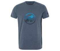 """T-Shirt """"Trovat"""", Print, schnelltrocknend, UV-Schutz, für Herren, Blau"""