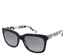 """Sonnenbrille """" 0741/S"""", Over-Size, schwarz-weiß"""
