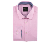 "Businesshemd ""Black Label"", Slim Fit, Kent-Kragen, bügelleicht, Rosa"