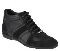 Sneaker, Leder-Mix