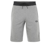 Shorts, Regular Fit, Tunnelzug, für Herren, Grau