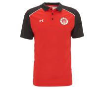 T-Shirt, FC St. Pauli, für Herren, Rot
