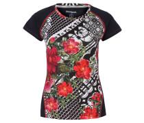 Laufshirt, Mesh-Rücken, reflektierende Elemente, elastisch, für Damen