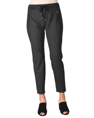 "Jogpants ""Easy"", Relaxed Fit, Slim Leg, Glitzer-Gummibund"