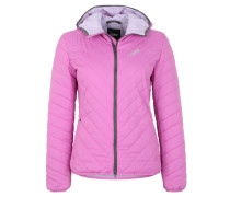 Steppjacke, Thermore-Isolierung, Kapuze, Lila