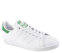 "Sneaker ""Stan Smith"", Leder, klassisches Design, Lochung, Wechselsohle"