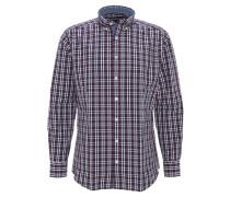 Hemd, Modern Fit, Button-Down-Kragen, Karo