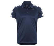 Polo-Shirt, Funktion, schweißableitend, für Herren, Blau