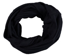 Loop-Schal, uni, gerippter Stoff