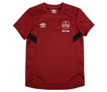1. FC Nürnberg Trainingshirt Home, 2017/2018, für Kinder, Rot