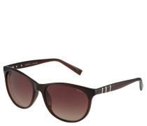 Sonnenbrille, Wayfarer-Stil, Metalldetails