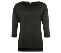 Shirt, 3/4-Arm, Baumwolle, Waschung