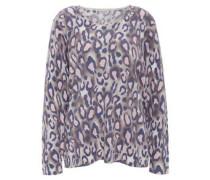 Shirt, Leoparden-Muster, Langarm, Rundhalsausschnitt