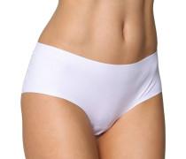 "Panty ""Perfectly Nude Cotton Velvet"", nahtlos, unifarben, Weiß"