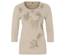 """Shirt """"Nordinary"""", 3/4-Ärmel, floraler Print"""