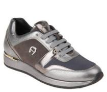 """Sneaker """"Emily"""", Metallic-Look, Leder"""