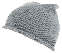 Mütze, Strick, Strass, Rollsaum