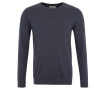 Pullover, Feinstrick, reine Baumwolle, Blau