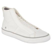 """Sneaker, """"Scuba"""", halbverdeckte Schnürung, einfarbig, Weiß"""