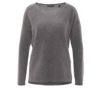 Pullover, Woll-Mix, Strick, Grau