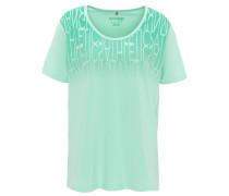 T-Shirt, Print, atmungsaktiv, elastisch