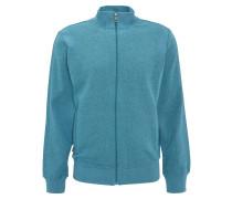 Sweatshirtjacke, meliert, Cotton Comfort, für Damen