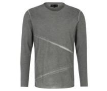 """Sweatshirt """"Eemeli"""", offene Kanten, Used-Look"""