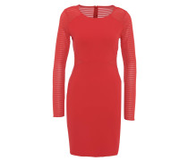 Kleid, Langarm, transparente Elemente
