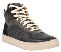 "Sneaker High ""Castelerock"", Gewebe, Leder, Mehrfarbig"